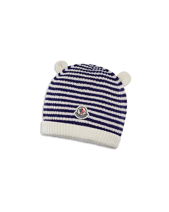 5db7d8c7902 Moncler - Unisex Berretto Striped Knit Beanie - Baby