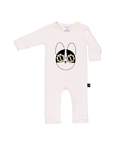 Huxbaby Girls' Frenchie Flower Sunglasses Graphic Romper - Baby - Bloomingdale's_0