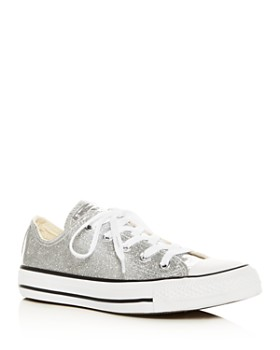 Converse - Women's Chuck Taylor All Star Glitter Low-Top Sneakers