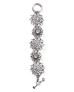 Oscar de la Renta - Crystal Flower Toggle Bracelet