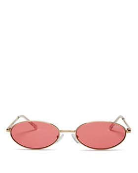 Quay - Women's Clout Round Sunglasses, 47mm