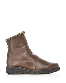 Arche - Women's Joelys Leather & Faux-Fur Boots