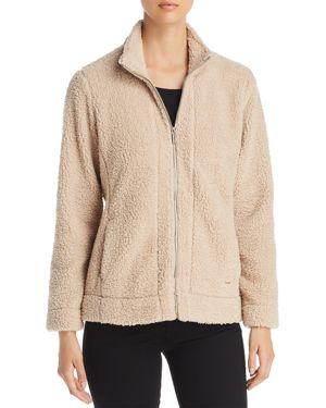 Calvin Klein Zip Front Teddy Bear Jacket