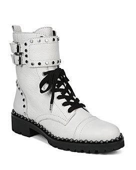 Sam Edelman - Women's Jennifer Studded Combat Boots