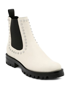 Dolce Vita - Women's Peton Studded Leather Chelsea Booties