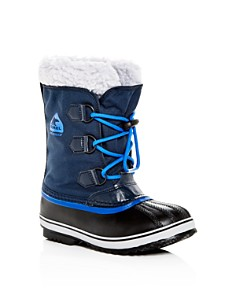 Sorel - Girls' Yoot Pac Waterproof Cold-Weather Boots - Little Kid, Big Kid