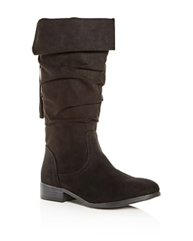 STEVE MADDEN - Girls' JPerri Slouch Boots - Little Kid, Big Kid