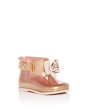 Mini Melissa Girls' Mini Sugar Rain Boots - Baby, Walker, Toddler