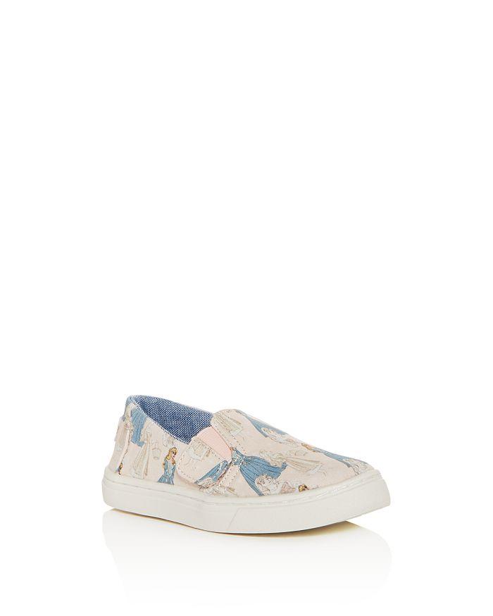 e634727a7f TOMS x Disney Girls  Luca Princess Print Slip-On Sneakers - Baby ...