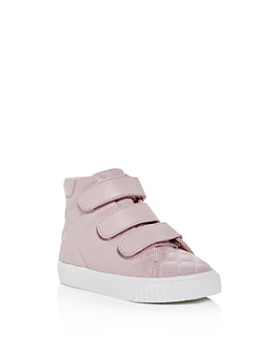 Burberry - Girls' Sturrock Quilted Leather Sneakers - Walker, Toddler