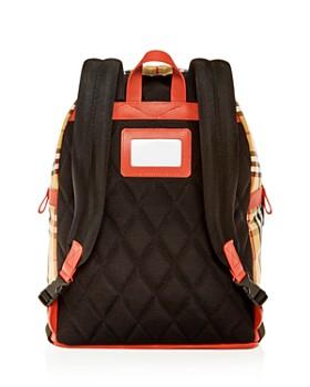 Burberry - Girls' Nico Vintage Check Logo Backpack