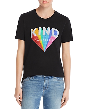 Girl Dangerous Kindness Rainbow Tee