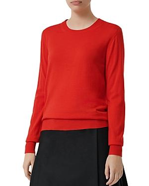 Burberry Bempton Elbow Patch Sweater