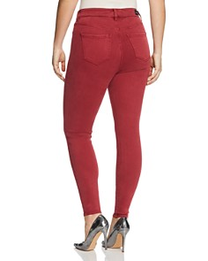 Liverpool Plus - Abby Skinny Jeans in Biking Red