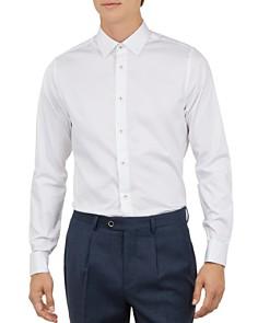 Ted Baker - Tomat Regular Fit Stretch-Satin Button-Down Shirt