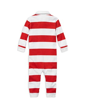 Ralph Lauren - Boys' Striped Cotton Rugby Coverall - Baby