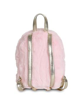 Capelli - Girls' Faux-Fur Mini Backpack