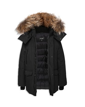 Mackage - Unisex Down Parka with Fur Trim - Big Kid