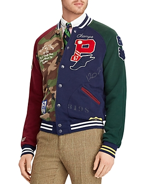 Polo Ralph Lauren Patchwork Baseball Jacket