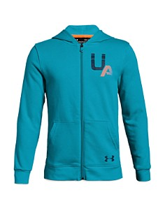 Under Armour - Boys' Rival Logo Zip-Up Hoodie - Big Kid