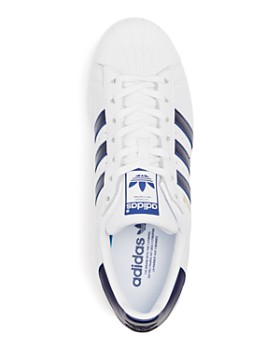 Adidas - Men's Superstar Leather Lace Up Sneakers