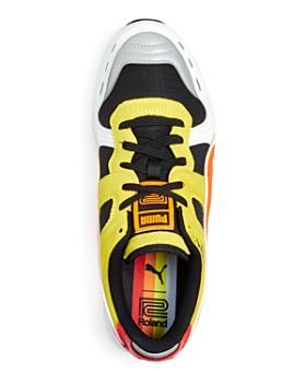 PUMA - Men's RS-100 Color-Block Suede Lace Up Sneakers