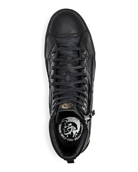 Diesel - Men's D-String Plus Leather High-Top Sneakers