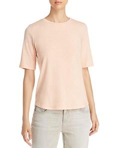 Eileen Fisher - Short-Sleeve Organic-Cotton Tee