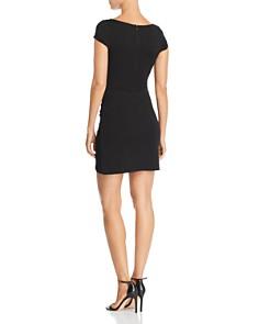 AQUA - Cap Sleeve Ruched Dress - 100% Exclusive