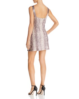 Ramy Brook - Adrian Sequin Snake Mini Dress