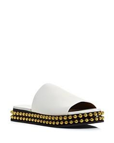 Chloé - Women's Sawyer Leather Slide Sandals