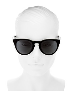 rag & bone - Women's Round Sunglasses, 61mm