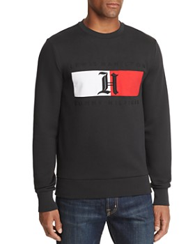 Tommy Hilfiger - x Lewis Hamilton Embroidered-Logo Sweatshirt
