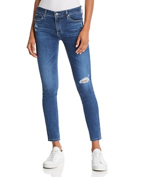 AG - Ankle Legging Jeans in Seven Seas Destruct