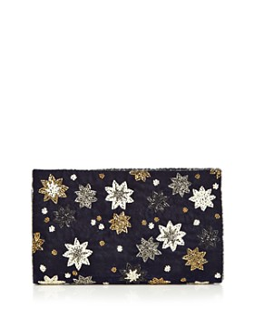 From St Xavier - Azalea Medium Velvet Crossbody Clutch