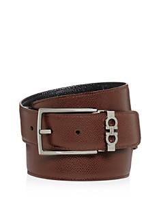 Salvatore Ferragamo - Gancini Keeper Reversible Leather Belt