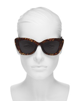 Fendi - Women's Cat Eye Sunglasses, 52mm