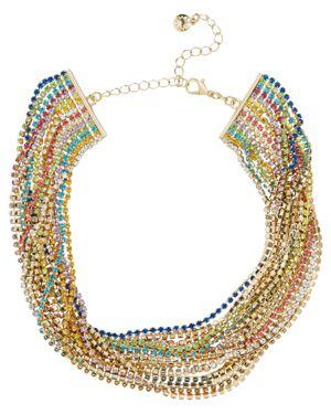 Baublebar Rainbow Choker Necklace, 15