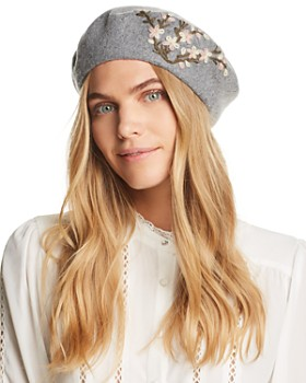August Hat Company - Winter Garden Embroidered Beret