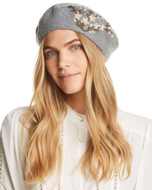 August Hat Company Winter Garden Embroidered Beret