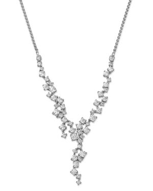 Bloomingdale's Diamond Cascade Necklace in 14K White Gold, 2.0 ct. t.w. - 100% Exclusive