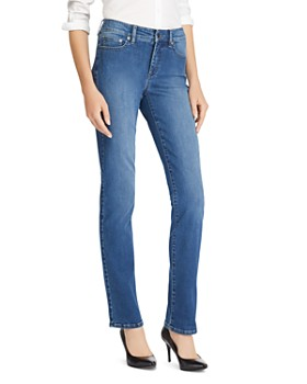 Ralph Lauren - Premier Straight-Leg Jeans in Harbor Wash