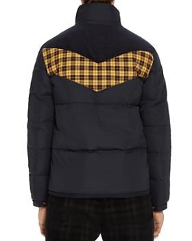 Scotch & Soda - Plaid-Accented Puffer Jacket