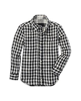 Ralph Lauren - Boys' Reversible Twill Plaid Shirt - Little Kid