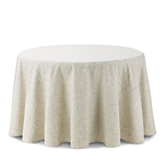 """Waterford - Monroe Tablecloth, 90"""" Round"""