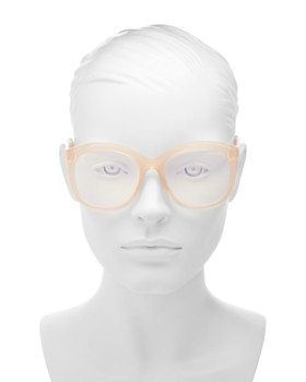 The Book Club - Women's Love in the Time of a Dollar Round Blue Light Glasses, 55mm