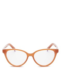 The Book Club - Women's The Art of Snore Cat Eye Blue Light Filter Glasses, 53 mm