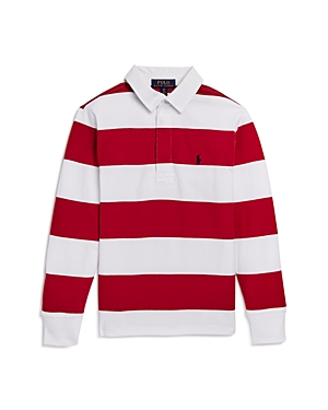 Ralph Lauren Boys' Striped Rugby Shirt - Big Kid