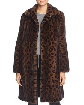 Maximilian Furs - Reversible Leopard Print Mink Fur Coat