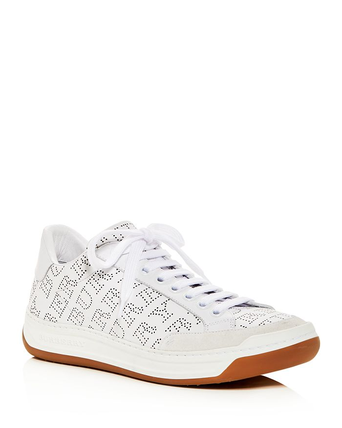 Perforated Up Women's Sneakers Burberry Timsbury Leather Lace XwEdZfqZ